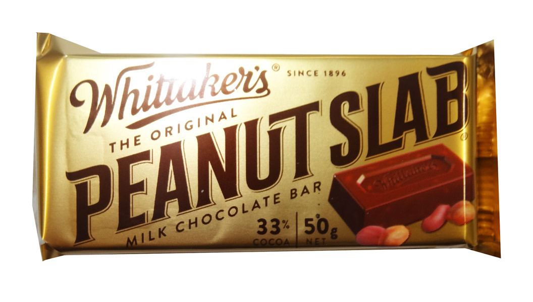 Whittakers Peanut Slab, by Whittakers,  and more Confectionery at The Professors Online Lolly Shop. (Image Number :8573)