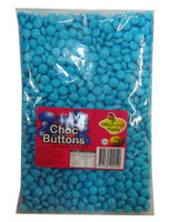 Lolliland Choc Buttons - Blue, by Lolliland,  and more Confectionery at The Professors Online Lolly Shop. (Image Number :8637)
