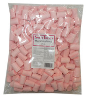 Sweet Treats Marshmallow Logs - Pink, by Brisbane Bulk Supplies,  and more Confectionery at The Professors Online Lolly Shop. (Image Number :8534)