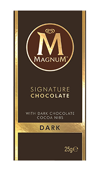 Magnum Mini Blocks - Dark Chocolate, by Magnum,  and more Confectionery at The Professors Online Lolly Shop. (Image Number :8556)