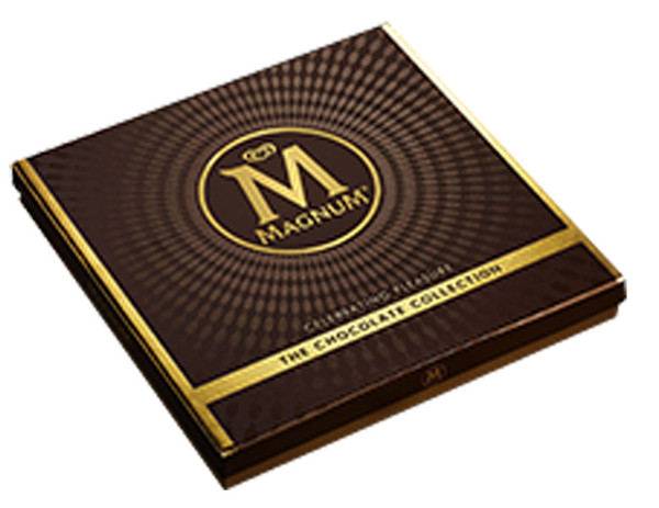 Magnum Chocolate Collection, by Magnum,  and more Confectionery at The Professors Online Lolly Shop. (Image Number :8729)