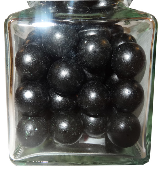 Aniseed Balls - Black, by The Australian Sweet Company,  and more Confectionery at The Professors Online Lolly Shop. (Image Number :9045)