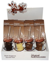 The Original Hot Chocolate - Assorted Pack - Milk / Dark / White Choc (12 pc display unit)