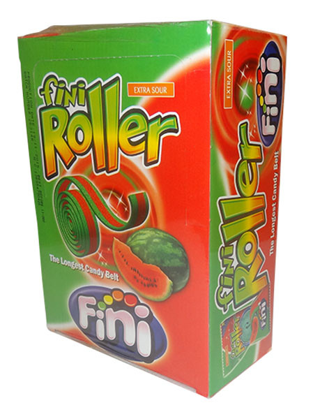Fini Roller - Watermelon, by Fini,  and more Confectionery at The Professors Online Lolly Shop. (Image Number :9766)