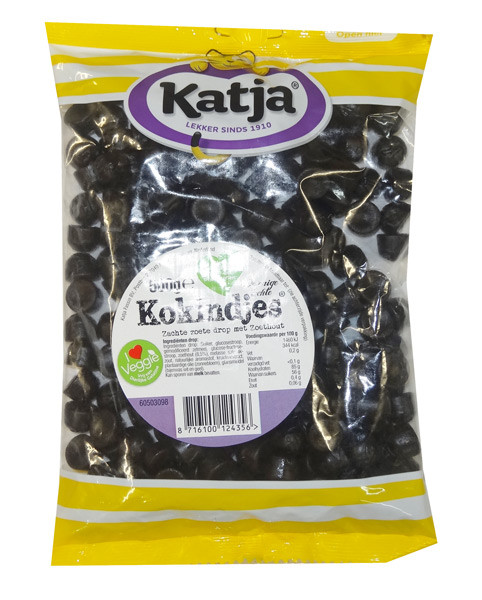 Katja Dutch Licorice - Kokindjes, by Kraepelien Holm Limecon,  and more Confectionery at The Professors Online Lolly Shop. (Image Number :8755)