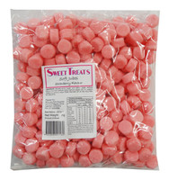 Sweet Treats Jubes - Pink, by Brisbane Bulk Supplies,  and more Confectionery at The Professors Online Lolly Shop. (Image Number :8826)
