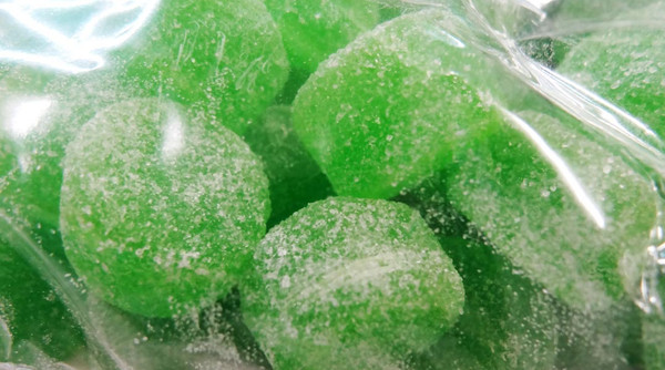 Sweet Treats Jubes - Green, by Brisbane Bulk Supplies,  and more Confectionery at The Professors Online Lolly Shop. (Image Number :8828)