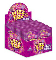 Wizz Fizz Flavoured Sherbet - Grape Flavour, by Fyna Foods,  and more Confectionery at The Professors Online Lolly Shop. (Image Number :8958)
