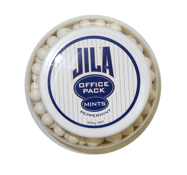 Jila Mints - Office Pack - Peppermint, by Jila,  and more Confectionery at The Professors Online Lolly Shop. (Image Number :9526)