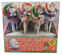 Mandy Martin - Santa Lollipops, by AIT Confectionery,  and more Confectionery at The Professors Online Lolly Shop. (Image Number :9393)