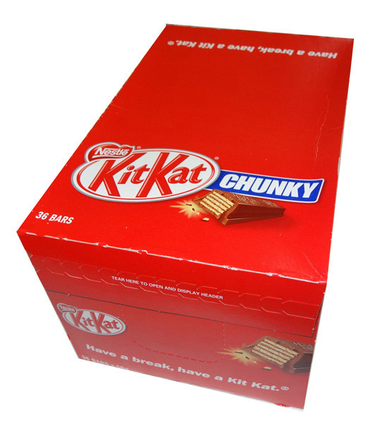 Nestle Kit Kat Chunky, by Nestle,  and more Confectionery at The Professors Online Lolly Shop. (Image Number :8959)