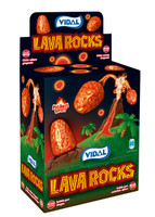 Vidal Lava Rocks Bubble Gum at The Professors Online Lolly Shop. (Image Number :8922)