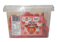 Chunky Funkeez Shiny Hearts, by Candy Brokers,  and more Confectionery at The Professors Online Lolly Shop. (Image Number :9515)