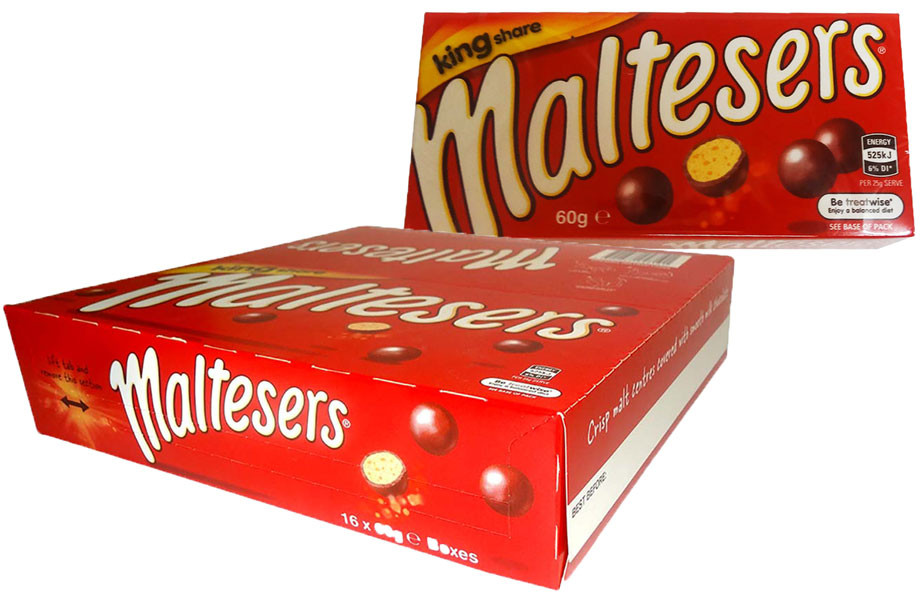 Mars Maltesers King Share, by Mars,  and more Confectionery at The Professors Online Lolly Shop. (Image Number :9840)