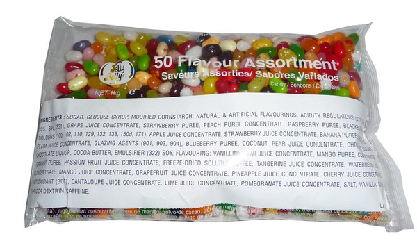 Jelly Belly - Gourmet Jelly Beans - 50 flavours mix, by Jelly Belly,  and more Confectionery at The Professors Online Lolly Shop. (Image Number :8986)