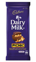 Cadbury Dairy Milk Picnic (200g Block x 14pc box)