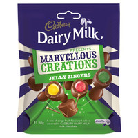 Cadbury Marvellous Creations - Jelly Zingers (150g bag x 12pc box)