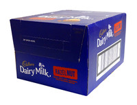 Cadbury Dairy Milk Hazel Nut (55g bar x 42pc box)