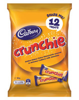 Cadbury Crunchie Sharepack (180g bag x 12pc box)