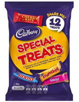 Cadbury Special Treat Sharepack (180g bag x 14pc box)