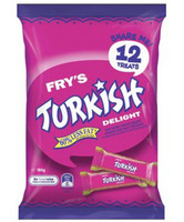 Cadbury Turksih Delight Sharepack (180g bag x 12pc box)
