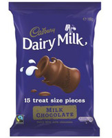 Cadbruy Dairy Milk Sharepack (180g bag x 14pc box)