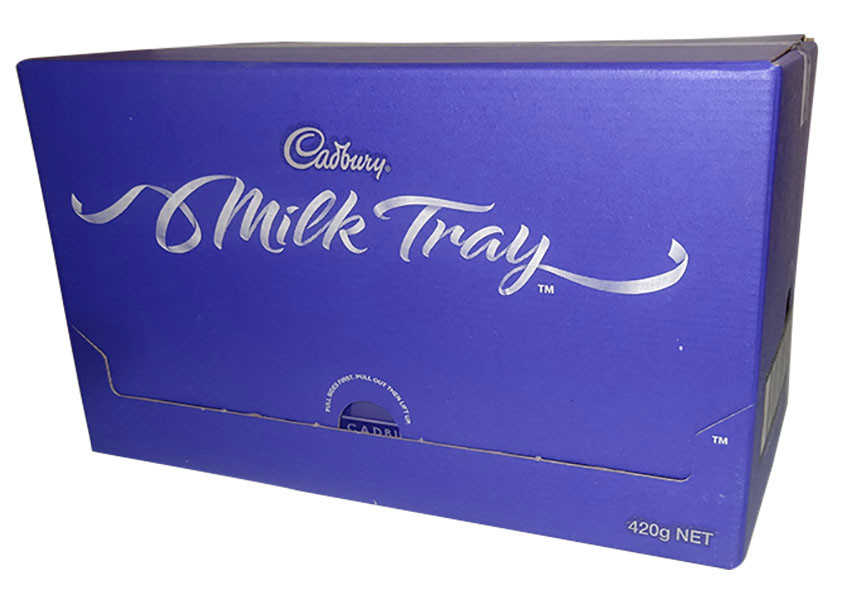 Cadbury Milk Tray Large, by Cadbury,  and more Confectionery at The Professors Online Lolly Shop. (Image Number :9832)