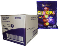 Cadbury Clinkers (160g bag x 12pc box)