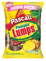 Pascall Pineapple Lumps (185g bag x 10pc box)