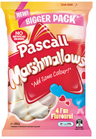 Pascall Marshmallows - 4 Fun Flavour (280g bag x 10pc box)