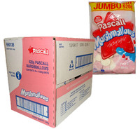 Pascall Marshmallows - Raspberry and Vanilla (520g bag x 6pc box)