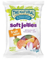 The Natural Confectionery Co. - Soft Jellies - Fruit Salad (240g bag x 18pc box)