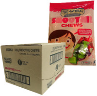 The Natural Confectionery Co. - Chews - Smoothie (220g bag x 10pc box)