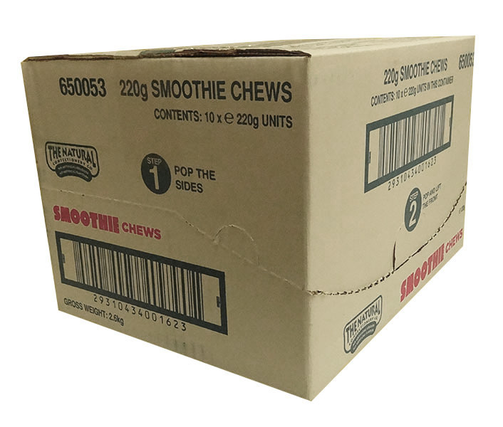 The Natural Confectionery Co. - Chews - Smoothie, by The Natural Confectionery Co.,  and more Confectionery at The Professors Online Lolly Shop. (Image Number :9984)