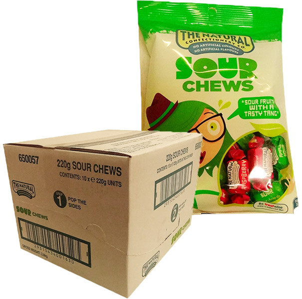 The Natural Confectionery Co. - Chews - Sour, by The Natural Confectionery Co.,  and more Confectionery at The Professors Online Lolly Shop. (Image Number :9981)