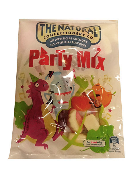 The Natural Confectionery Co. - Party Mix, by The Natural Confectionery Co.,  and more Confectionery at The Professors Online Lolly Shop. (Image Number :9977)