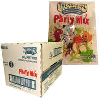 The Natural Confectionery Co. - Party Mix (240g bag x 16pc box)