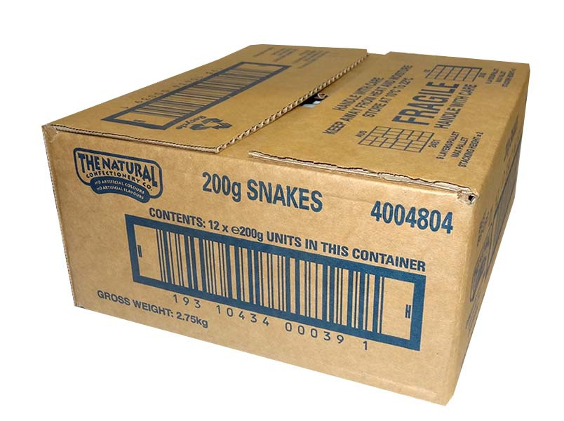 The Natural Confectionery Co. - Snakes, by The Natural Confectionery Co.,  and more Confectionery at The Professors Online Lolly Shop. (Image Number :9690)