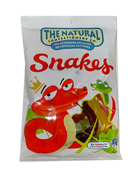 The Natural Confectionery Co. - Snakes, by The Natural Confectionery Co.,  and more Confectionery at The Professors Online Lolly Shop. (Image Number :9691)