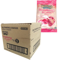 The Natural Confectionery Co. - Strawberries and Cream Bliss (200g bag x 12pc box)