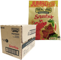 The Natural Confectionery Co. - Snakes (520g bag x 10pc box)