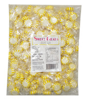 Sweet Treats Starlight Candy - Yellow and White -  Lemon, by Brisbane Bulk Supplies,  and more Confectionery at The Professors Online Lolly Shop. (Image Number :9063)