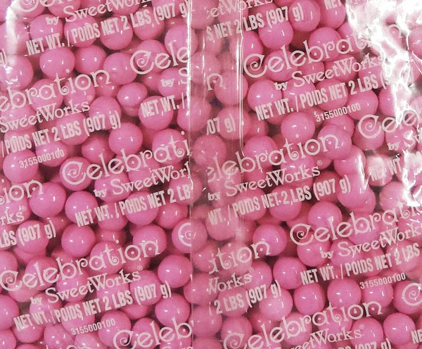 Sixlets - Light Pink, by Sixlets,  and more Confectionery at The Professors Online Lolly Shop. (Image Number :9042)