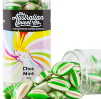 Choc Mint Humbugs (170g Jar)