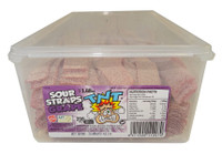TNT Sour Straps Grape, by TNT,  and more Confectionery at The Professors Online Lolly Shop. (Image Number :9179)