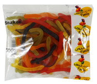Lolliland Snakes (550g Bag)