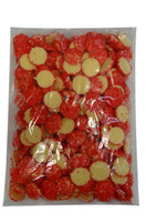 Custom Choc - White Choc Jewels with Red Speckles, by Custom Choc,  and more Confectionery at The Professors Online Lolly Shop. (Image Number :9666)