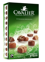 Cavalier Belgian Chocolate - Assorted - Stevia Sweetner and more Confectionery at The Professors Online Lolly Shop. (Image Number :9222)