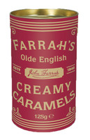 Farrahs Olde English Creamy Caramels - Red (125g Box)