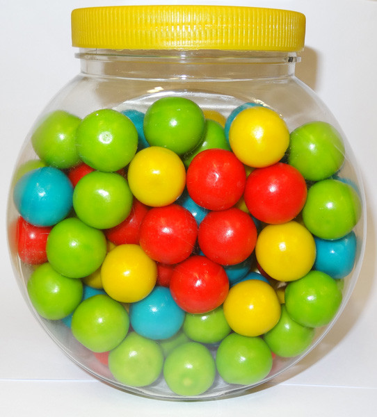 Gum Balls, by Famous Makers/Other,  and more Confectionery at The Professors Online Lolly Shop. (Image Number :6248)